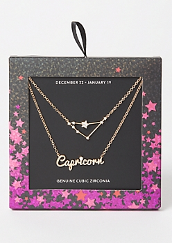 Capricorn Layered Necklace