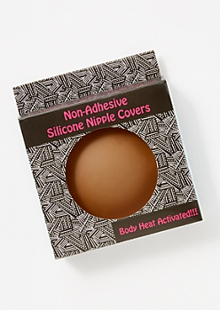 Brown Silicone Nipple Covers