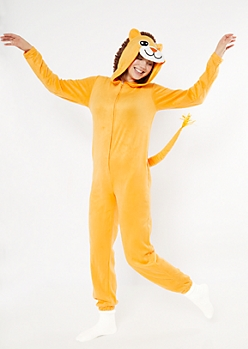 Lion Plush Onesie