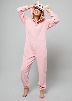 Llama Plush Pajama Onesie