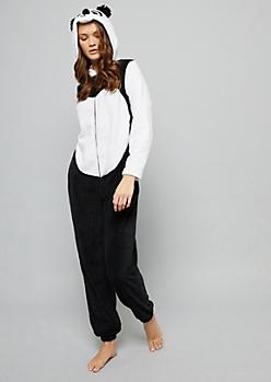 Panda Plush Pajama Onesie