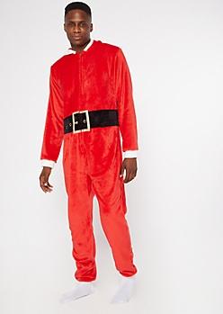 Santa Claus Plush Onesie