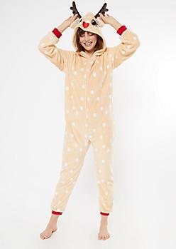 Reindeer Plush Onesie