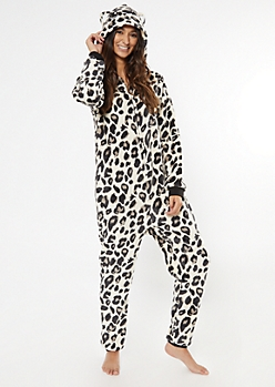 Cheetah Plush Onesie