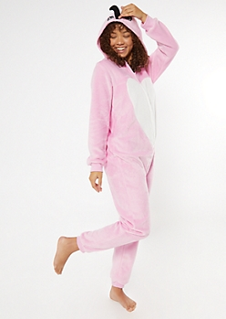 Flamingo Plush Onesie