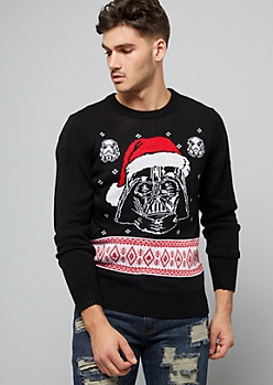 Black Holiday Darth Vader Sweater