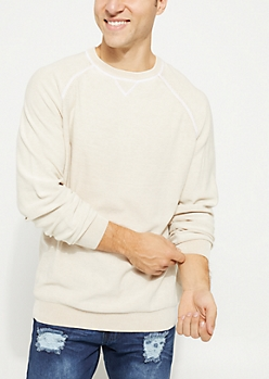 Stone Stitched Crewneck Sweater