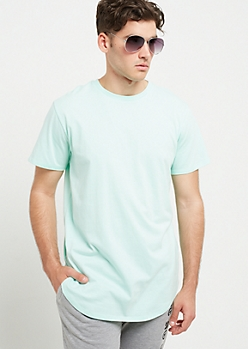 Mint Crewneck Short Sleeve Tee