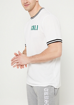 White California Mesh Tee