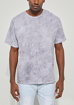 Gray Mineral Washed Tee