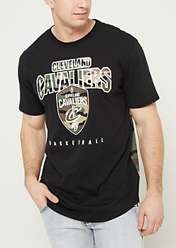 Camo Cleveland Cavaliers Colorblock Tee