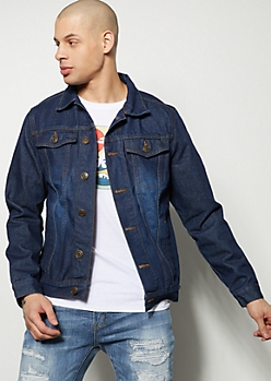 Dark Wash Classic Jean Jacket
