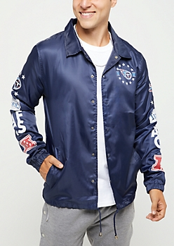 Tennessee Titans Logo Coaches Jacket