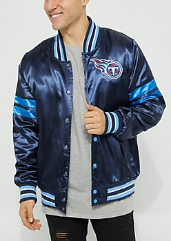 Tennessee Titans Embroidered Logo Bomber Jacket