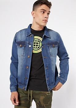 Medium Wash Classic Jean Jacket