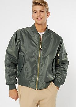 Rothco Olive Reversible Bomber Jacket
