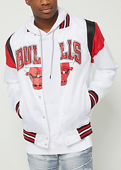 Chicago Bulls Bomber Windbreaker
