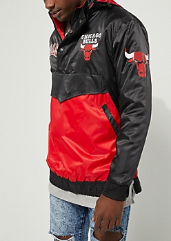 Chicago Bull Button-Up Windbreaker