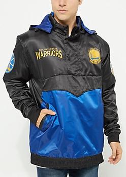 Golden State Warriors Pullover Windbreaker