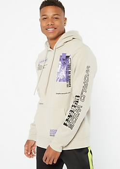 Sandy Worldwide Kanji Graphic Hoodie
