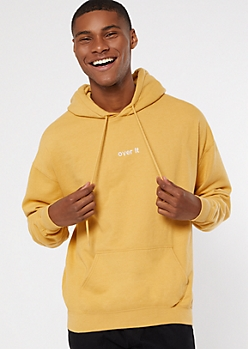 Gold Over It Embroidered Hoodie