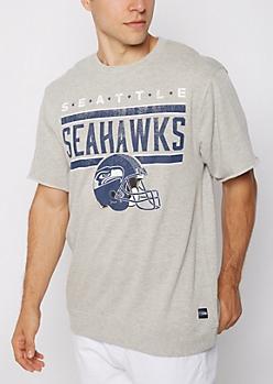 Seattle Seahawks Raw Edge Sweatshirt