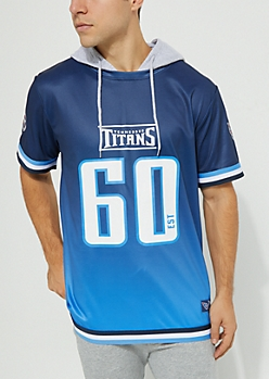 Tennessee Titans Hooded Mesh Top