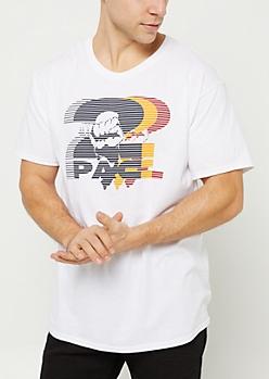 White Tupac Fist Tee