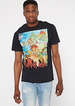 Black Trippie Redd Album Graphic Tee