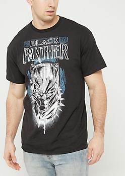 Black Panther Black Tee