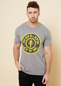 Heather Gray Gym Soft Graphic Tee
