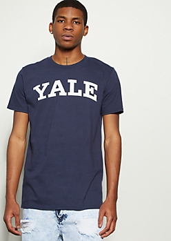 Navy Yale Graphic Tee