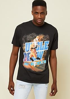 Black Uncle Drew Basketball Tee
