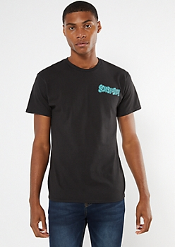 Black Scooby Doo Graphic Tee