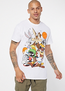 White Space Jam Graphic Tee