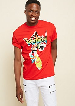 Red Voltron Graphic Tee