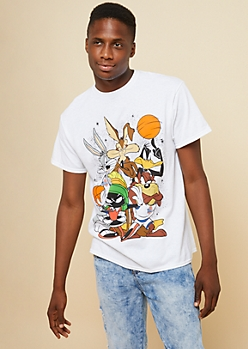 White Space Jam Outer Space Tee