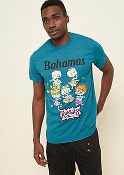 Teal Rugrats Bahamas Tee