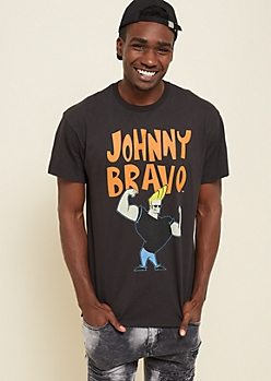 Black Johnny Bravo Tee