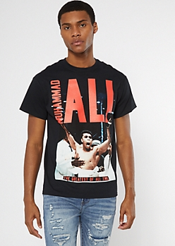 Black Graphic Muhammad Ali Tee