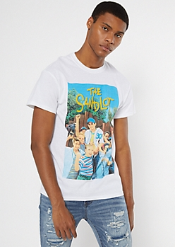 White The Sandlot Graphic Tee
