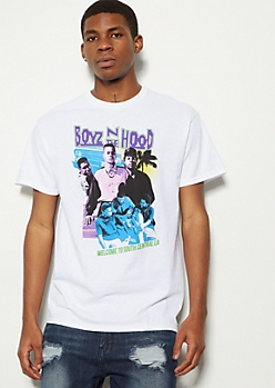 White Boyz N The Hood South Central Graphic Tee