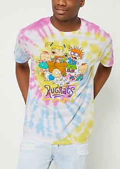 Tie Dye Rugrats Crew Tee