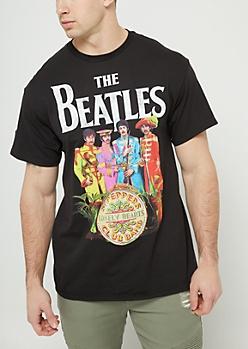 Black Beatles Tee