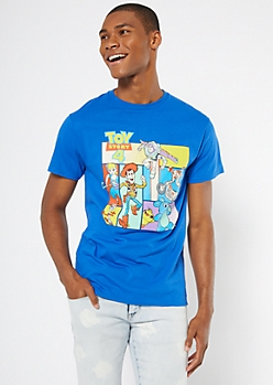 Royal Blue Toy Story 4 Graphic Tee