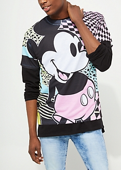 Mickey Mouse Pastel Print Tee