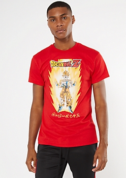 Red Dragon Ball Z Graphic Tee