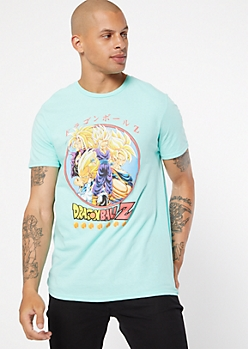 Mint Dragon Ball Z Graphic Tee