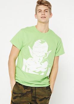 Green Piccolo Dragon Ball Z Graphic Tee