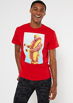 Red Hulk Hogan Graphic Tee